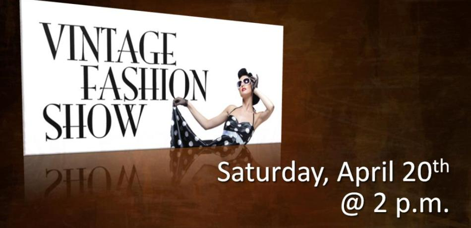 Midway will be having a vintage fashion show on Saturday, April 20 at 2:00. We are going to organize it like the Christmas Tea. More information and details will be coming in a couple of weeks. Contact Marlys or Judy with any questions.