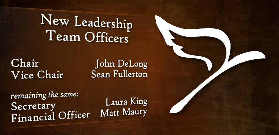New Leadership Team Officers