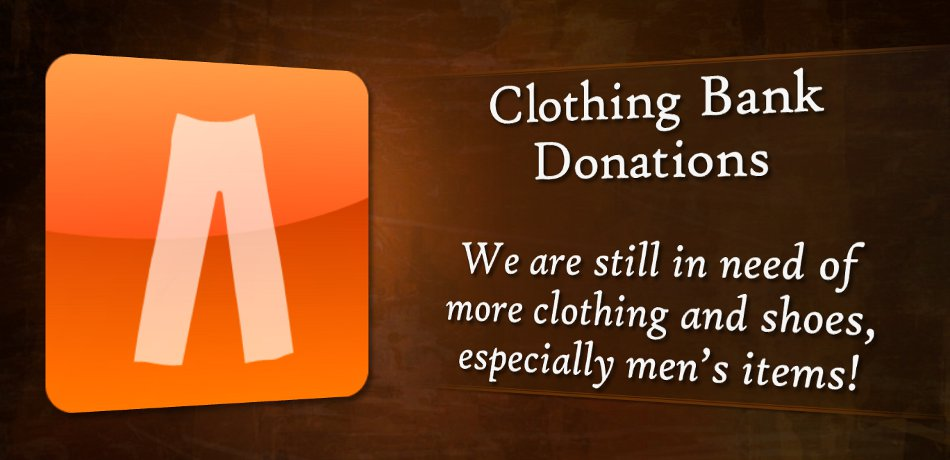 Clothing Bank Donations